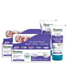Himalaya Herbal Diaper Rash Cream - 50 gm (Pack of 2)