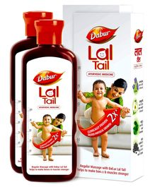 Dabur Lal Tail 500ml(Pack of 2)