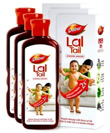 Dabur Lal Tail - 200 ml(Pack of 3)