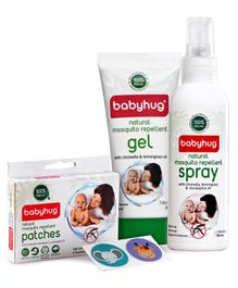 Babyhug All in One Mosquito Repellent Combo Pack