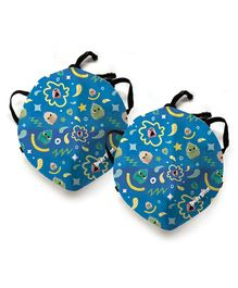 Angry Birds Anti Pollution Face Mask Pack of 2- Blue
