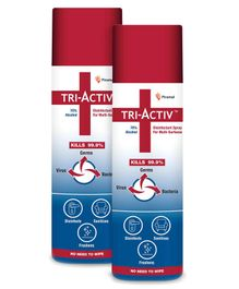 Piramal Healthcare Tri-Activ Disinfectant Spray - 230 ml ( Pack of 2 )
