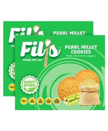 Fil's Pearl Millet Cookies - 150 gm Pack Of 2