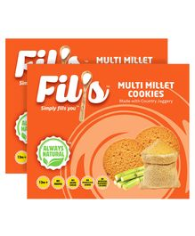 Fil's Multi Millet Cookies - 150 gm Pack Of 2