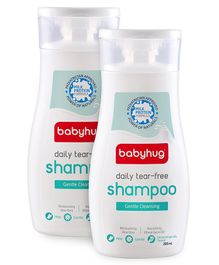 Baby Hug Daily Tear Free Shampoo 200ml - Pack of 2
