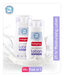 Baby Hug Daily Moisturizing Lotion 200ml -  Pack of 2