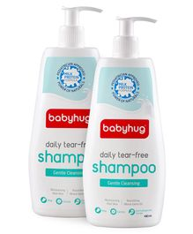Baby Hug Daily Tear Free Shampoo 400ml- Pack of 2