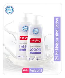 Baby Hug Daily Moisturizing Lotion 400ml- Pack of 2