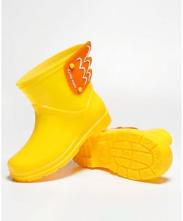 Pre Order - Awabox Wing Decorated Rain Boots - Yellow