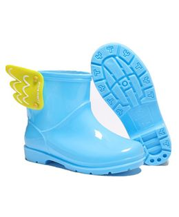 Pre Order - Awabox Wing Decorated Rain Boots - Blue