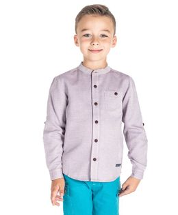 Cherry Crumble California Full Sleeves Solid Shirt - Light Purple