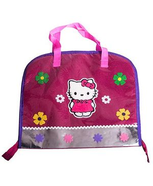 Li'll Pumpkins Cat Print Drawing Bags - Pink