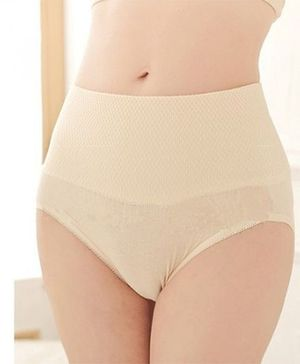 Aaram Butt Lift High Cut Slim Panties - Cream