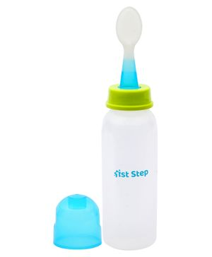 1st Step Food Feeder White Blue - 260 ml