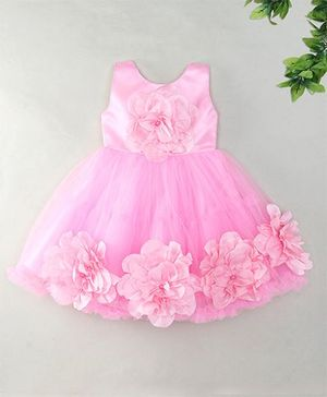 M'Princess Elegant Party Dress - Pink