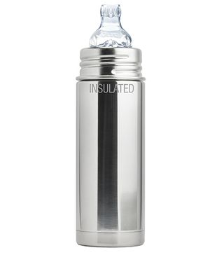 Pura Natural Vacuum Insulated Feeding Bottle - 260 ml