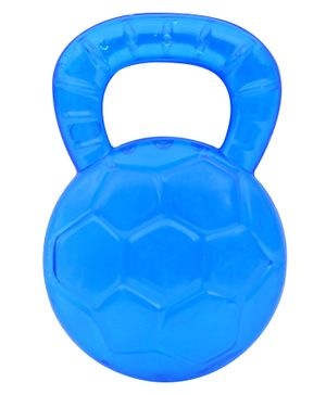 1st Step Baby Teether in Football Design - Blue
