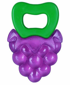 1st Step BPA Free Water Filled Grapes Bunch Teether - Purple