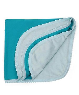 Tinycare Plain Bath Towel - Sea Green