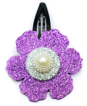Carolz Jewelry Glitter Flower Single Tic Tac - Light Purple