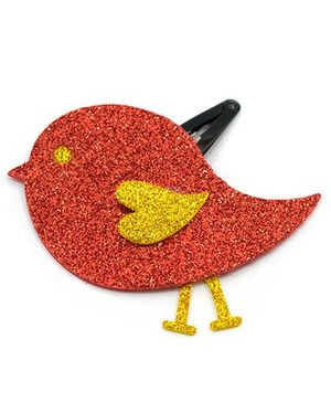 Carolz Jewelry Glitter Bird Single Tic Tac - Red