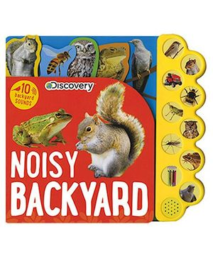 Discovery Noisy Backyard Book - English