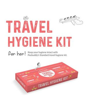 PeeBuddy Standard Travel Hygiene Kit For Her