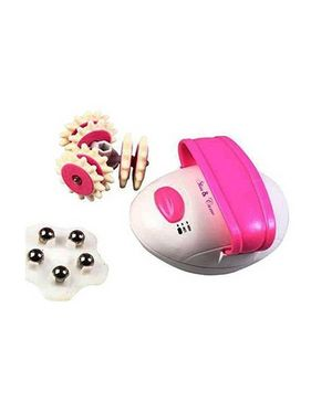 Solomon Slim & Curve Massager - Pink And White