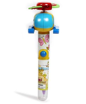 Baby Oodles 3 In 1 Writing Pen With 3D Helicopter - Multicolor