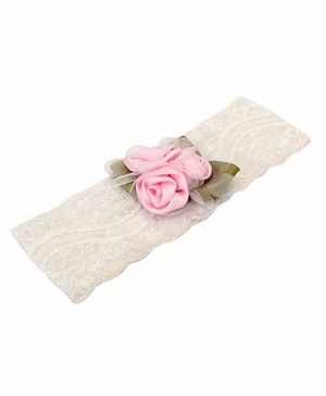 Funkrafts Rose Headband - Pink