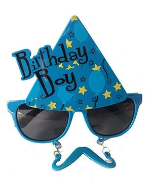 Funcart Birthday Boy Sun Glasses - Blue