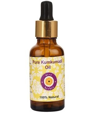 Deve Herbes 100% Pure Kumkumadi Oil With Dropper - 30 ml