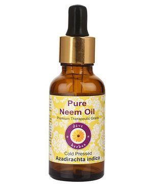 Deve Herbes 100% Pure Neem Oil With Dropper - 50 ml