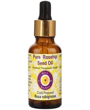 Deve Herbes Pure Rosehip Seed Oil With Glass Dropper - 100 ml