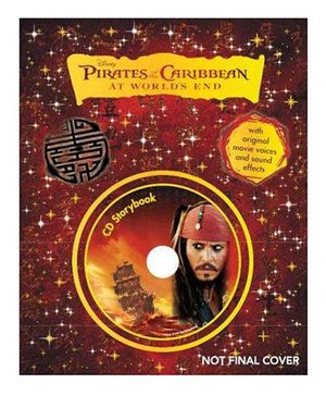 Disney Pirates of the Caribbean At Worlds End Story Book - English