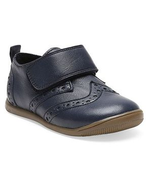 Teddy toes hunk Shoes  - Navy (18 to 21 Months)