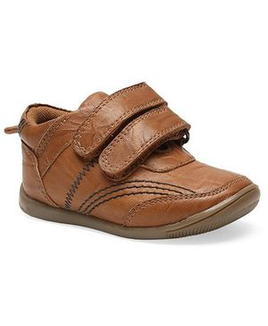 Teddy toes roadstar Shoes  - Tan (18 to 21 Months)