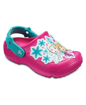 Crocs Crocs Fun Lab Frozen Clog - Candy Pink