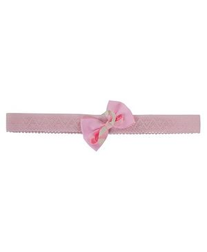 Funkrafts Bow With Curlies Headband - Pink