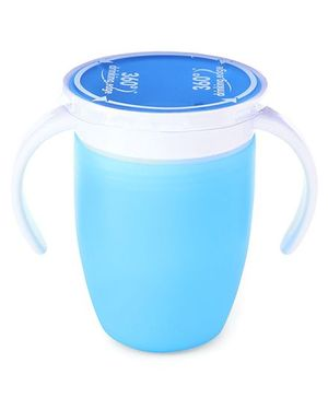 Munchkin Miracle Spoutless Twin Handle Cup Blue - 207 ml