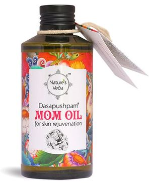 Nature's Veda Dasapushpam Mom Oil - 150 ml
