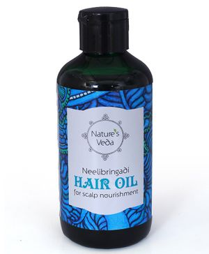 Nature's Veda Neelibringadi Hair Oil - 150 ml