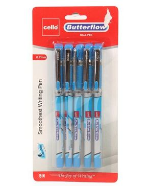 Cello Butterflow Ball Pen - Pack of 5