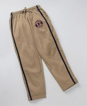 JusCubs Boys Track Pants - Beige