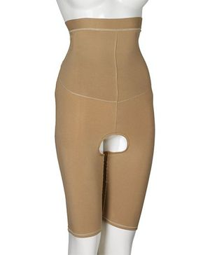 Aaram High Waist Full Coverage Instant Body Shaper -  Beige