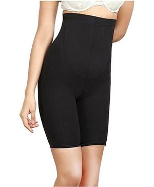 Aaram High Waist Full Coverage Instant Body Shaper -  Black