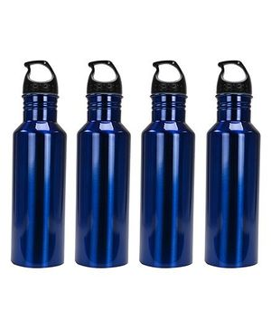 Aristo Sports Bottles Pack of 4 Royal Blue - 750 ml
