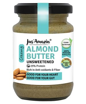 Jus ' Amazin Almond Butter All Natural - 125 gms