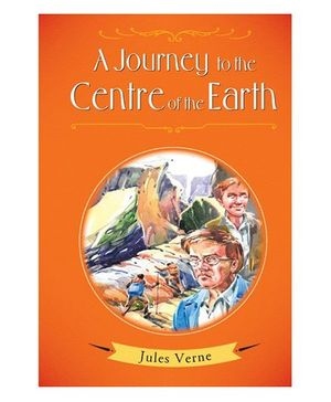 A Journey To The Centre of The Earth Story Book - English
