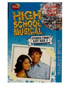 Disney High School Musical 2 Wildcat Spirit Book - English